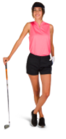 Amazon Product Page - Women's Golf Shorts